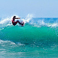 Surfer Making Turn by Ben Graham