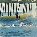 Surfer Sunrise 31 10/2 by Mark Lemmon