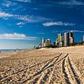 Surfers Paradise Beach South by Darren Burton