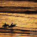 Surfers by Ron Sanford