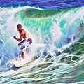 Surfin Usa by Frank Lee Hawkins