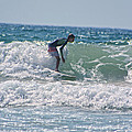 Surfing In California by Doc Braham