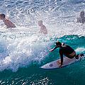 Surfing Maui by Adam Romanowicz