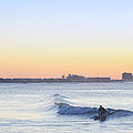 Surfing - Ocean City New Jersey by Bill Cannon