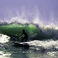 Surfing Pt. Judith by Joe Geraci