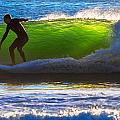 Surfing The Waves 2 by Robert Mullen
