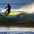 Surfing The Waves by Robert Mullen