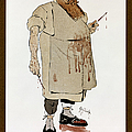 Surgeon: Caricature, 1906 by Granger