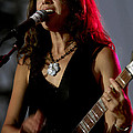Susanna Hoffs Of The Bangles by Bruce Crummy