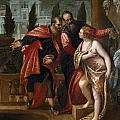 Susannah And The Elders by Paolo Veronese