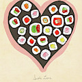 Sushi Love by Lisa Barbero
