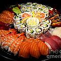 Sushi Party Tray by Elena Elisseeva