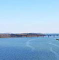 Susquehanna River And The Thomas J Hatem Bridge by Bill Cannon