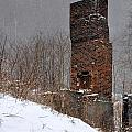 Sutherland Chimney In Winter Number One by Christina McKinney