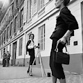 Suzy Parker Photographing A Model In Front by Jacques Boucher