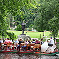 Swan Boat - Boston by Christiane Schulze Art And Photography
