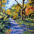 Swan Creek Pathway by Mary Jane Erard