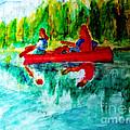 Swan Lake by Stanley Morganstein