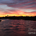Swan River Sunset by Luke Moore