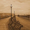 Swanage Pier by Linsey Williams