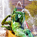 Swann Fountain Gods by Art Dingo