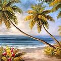 Swaying Palms by Studio Artist