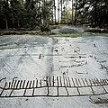 Sweden. Tanum. Petroglyphs Of Tanum by Everett