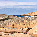Swedish Cliffs Panorama by Lutz Baar