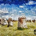 Swedish Standing Stones by Sophie McAulay