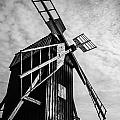 Swedish Windmill One Of The 400 Year Old by Peter Noyce