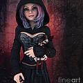 Sweet Betty With Gothic Doll by Jutta Maria Pusl