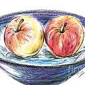 Sweet Crunchy Apples by Teresa White