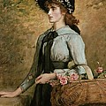 Sweet Emma Morland by Sir John Everett Millais
