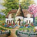 Sweet Home by Edith Hernandez Paintings