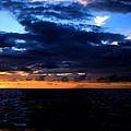 Sweet Mystery... Last Glimmering Off Guadeloupe by David M Davis