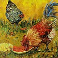 Sweet Pickins, Chickens by Sandra Reeves