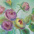 Sweetness Floral Painting by Mary Wolf