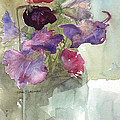 Sweetpeas 3 by David Ladmore