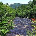 Swift River Mountain View Kancamagus Hwy Nh by Lizi Beard-Ward