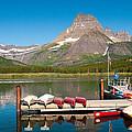 Swiftcurrent Lake by Steve Stuller