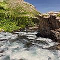Swiftcurrent River At Many Glacier by Kathleen Bishop