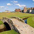 Swilcan Bridge On The 18th Hole At St Andrews Old Golf Course Scotland by Unknown