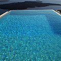 Swim Above The Santorini Island by Colette V Hera  Guggenheim