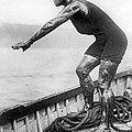 Swimmer Clemington Corson by Underwood Archives