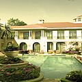Swimming Pool In Luxury Hotel by Jeelan Clark
