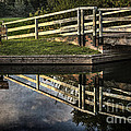 Swing Bridge Reflected by Ian Lewis