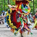 Swirling Colors - Nanticoke Powwow Delaware by Kim Bemis
