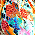 Swirling Grapes by Xavier Francois