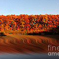 Swirling Reflections With Fall Colors by Dan Friend