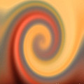 Swirly Abstract by Debbie Portwood